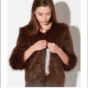 Urban Outfitters faux fur jacket